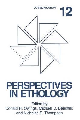 Communication - Perspectives in Ethology 12 (Paperback)