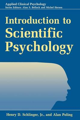Introduction to Scientific Psychology - NATO Science Series B (Paperback)