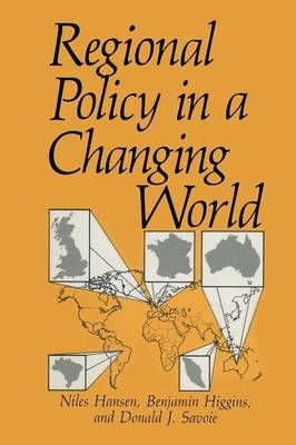 Regional Policy in a Changing World - Environment, Development and Public Policy: Cities and Development (Paperback)