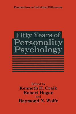 Fifty Years of Personality Psychology - Perspectives on Individual Differences (Paperback)