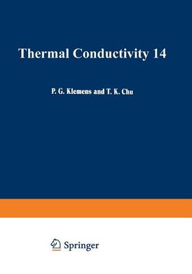 Thermal Conductivity 14 (Paperback)