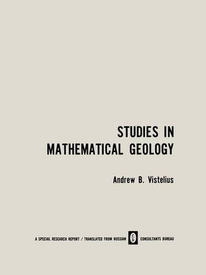 Studies in Mathematical Geology (Paperback)