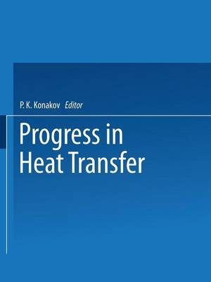 Progress in Heat Transfer (Paperback)