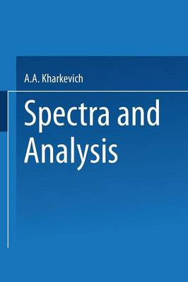 Spectra and Analysis (Paperback)