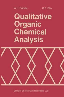 Qualitative Organic Chemical Analysis (Paperback)