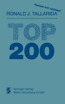 TOP 200: A compendium of pharmacologic and therapeutic information on the most widely prescribed drugs in America (Paperback)