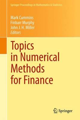 Topics in Numerical Methods for Finance - Springer Proceedings in Mathematics & Statistics 19 (Paperback)