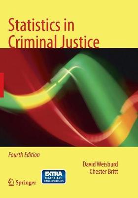 Statistics in Criminal Justice (Paperback)