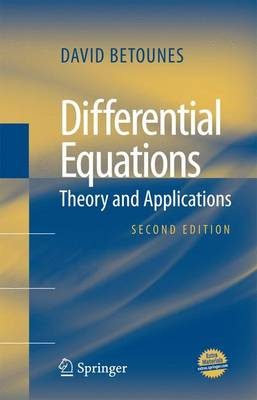 Differential Equations: Theory and Applications (Paperback)