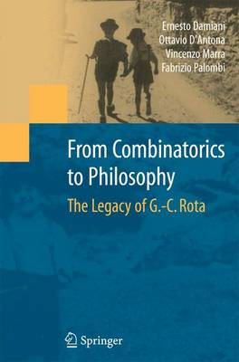 From Combinatorics to Philosophy: The Legacy of G.-C. Rota (Paperback)