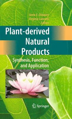 Plant-derived Natural Products: Synthesis, Function, and Application (Paperback)
