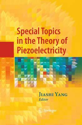 Special Topics in the Theory of Piezoelectricity (Paperback)