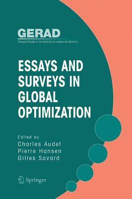Essays and Surveys in Global Optimization (Paperback)