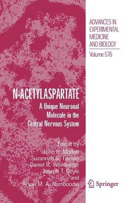 N-Acetylaspartate: A Unique Neuronal Molecule in the Central Nervous System (Paperback)