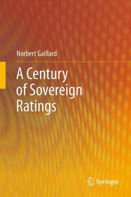 A Century of Sovereign Ratings (Paperback)
