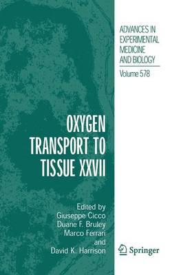 Oxygen Transport to Tissue XXVII (Paperback)