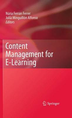 Content Management for E-Learning (Paperback)