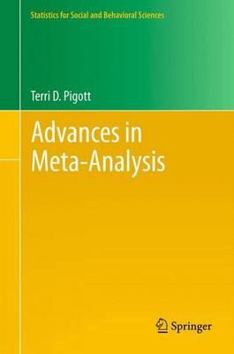 Advances in Meta-Analysis - Statistics for Social and Behavioral Sciences (Paperback)