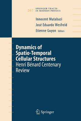 Dynamics of Spatio-Temporal Cellular Structures: Henri Benard Centenary Review - Springer Tracts in Modern Physics 207 (Paperback)