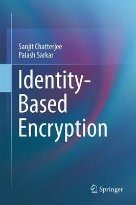 Identity-Based Encryption (Paperback)
