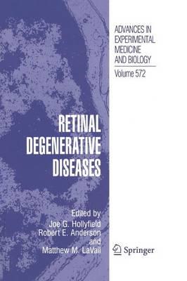 Retinal Degenerative Diseases (Paperback)