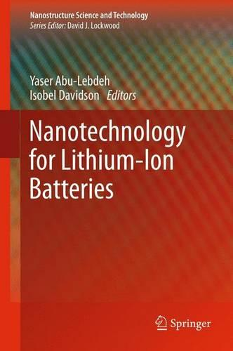 Nanotechnology for Lithium-Ion Batteries - Nanostructure Science and Technology (Paperback)