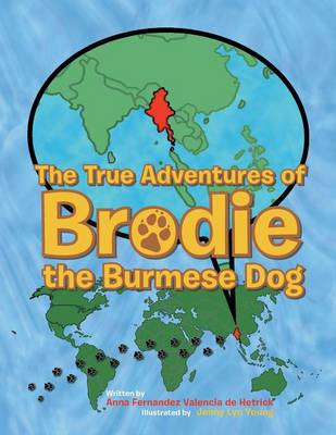 The True Adventures of Brodie the Burmese Dog (Paperback)