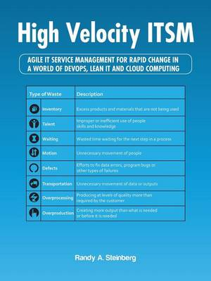 High Velocity ITSM: Agile IT Service Management For Rapid Change In A World Of DevOps, Lean IT and Cloud Computing (Paperback)