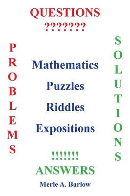 Mathematics, Puzzles, Riddles, Expositions (Paperback)