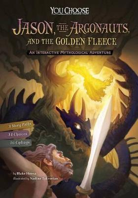 Jason, the Argonauts, and the Golden Fleece: An Interactive Mythological Adventure (Paperback)