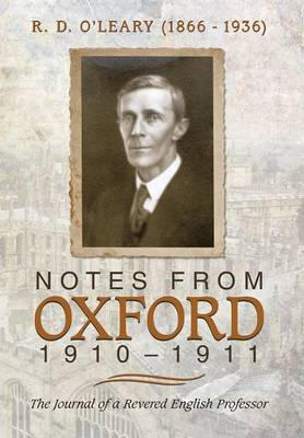 Notes from Oxford, 1910-1911 (Hardback)
