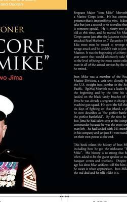 "Hardcore ""Iron Mike"": Conqueror of Iwo Jima (Hardback)"