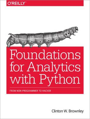 Foundations for Analytics with Python (Paperback)