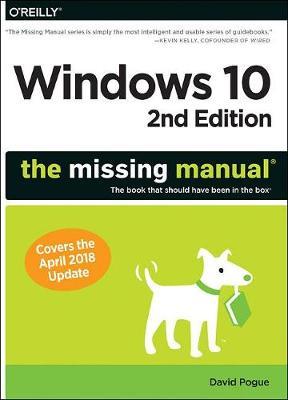 Windows 10 - The Missing Manual 2e (Paperback)