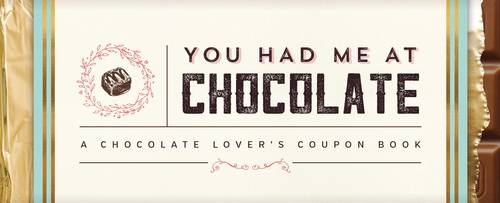 You Had Me at Chocolate: A Chocolate Lover's Coupon Book - Sealed with a Kiss (Paperback)