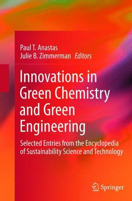 Innovations in Green Chemistry and Green Engineering: Selected Entries from the Encyclopedia of Sustainability Science and Technology (Paperback)