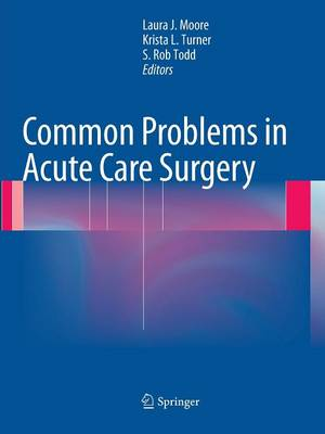 Common Problems in Acute Care Surgery (Paperback)