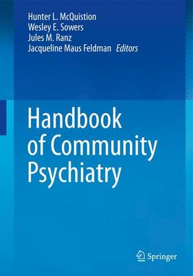 Handbook of Community Psychiatry (Paperback)