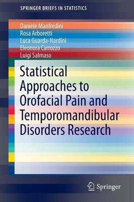 Statistical Approaches to Orofacial Pain and Temporomandibular Disorders Research - SpringerBriefs in Statistics (Paperback)