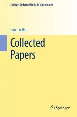 Collected Papers - Springer Collected Works in Mathematics (Paperback)