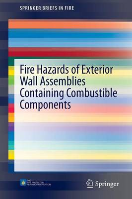 Fire Hazards of Exterior Wall Assemblies Containing Combustible Components - SpringerBriefs in Fire (Paperback)