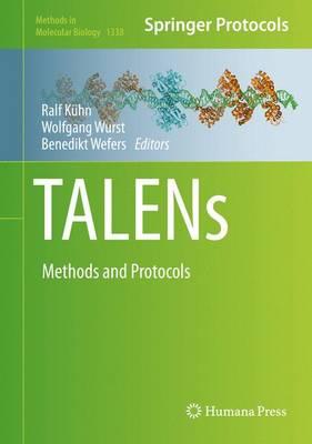 TALENs: Methods and Protocols - Methods in Molecular Biology 1338 (Hardback)