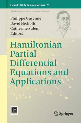 Hamiltonian Partial Differential Equations and Applications - Fields Institute Communications 75 (Hardback)