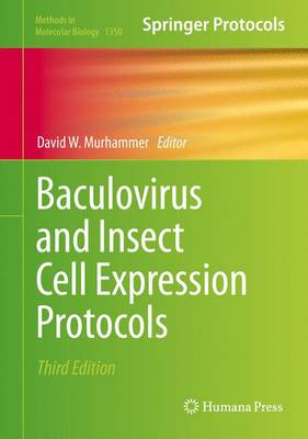 Baculovirus and Insect Cell Expression Protocols - Methods in Molecular Biology 1350 (Hardback)