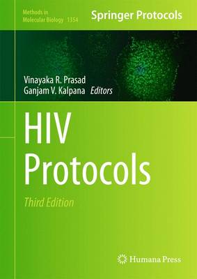 HIV Protocols - Methods in Molecular Biology 1354 (Hardback)