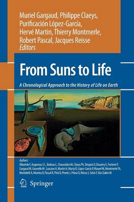 From Suns to Life: A Chronological Approach to the History of Life on Earth (Paperback)