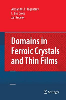 Domains in Ferroic Crystals and Thin Films (Paperback)