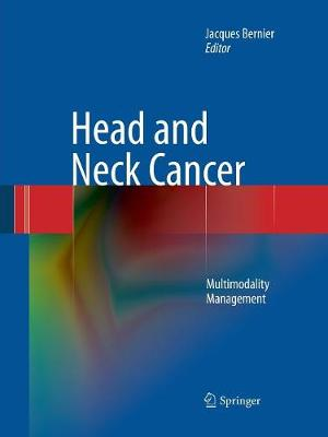 Head and Neck Cancer: Multimodality Management (Paperback)