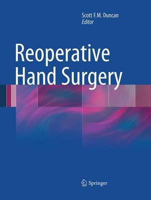 Reoperative Hand Surgery (Paperback)