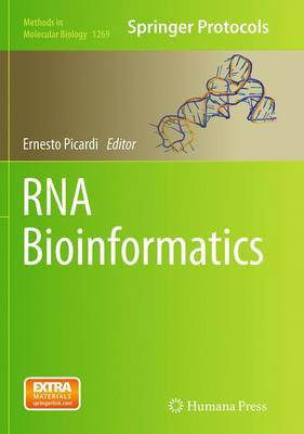RNA Bioinformatics - Methods in Molecular Biology 1269 (Paperback)